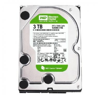 西部数据(WD)3TB SATA6Gb/s  64M 台式机绿盘(WD30EZRX)
