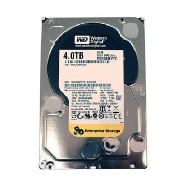 西部数据(WD)4TB SATA6Gb/s  7200转64M RE4系列企业级硬盘(WD4000FYYZ)