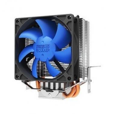 超频三(pccooler)mini s810 蓝狐 AMD Intel 通用CPU风扇