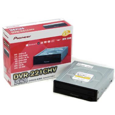 先锋(Pioneer)DVR-221CHV 24速 串口 DVD刻录机 黑色