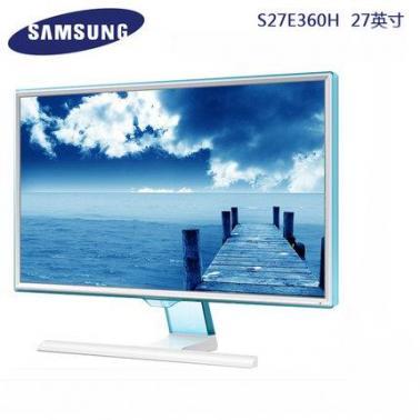 三星(SAMSUNG)S27E360H 27英寸LED背光液晶显示器(白色)