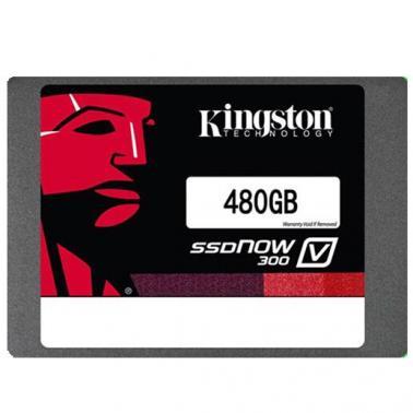 金士顿(Kingston)SV300系列 480GB 2.5英寸 SATA3 固态硬盘