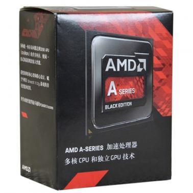 AMD APU系列四核  A8-7650K(Socket FM2/3.3GHz/4M/95W)盒装CPU