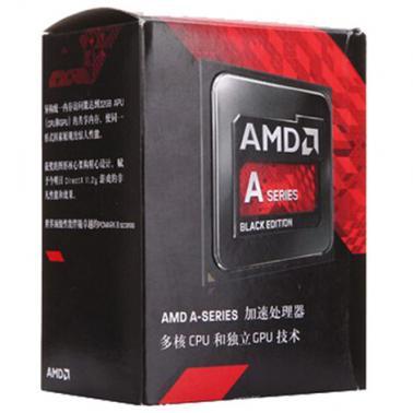 AMD APU系列四核 A10-7850K(Socket FM2/3.7GHz/4M缓存/95W)盒装CPU