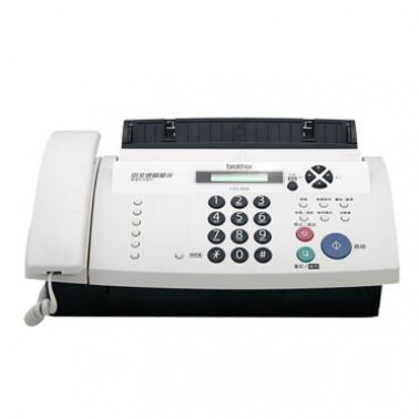 兄弟(BROTHER)FAX-888 中文液晶显示来电显示 25页无纸接收 普通纸传真机