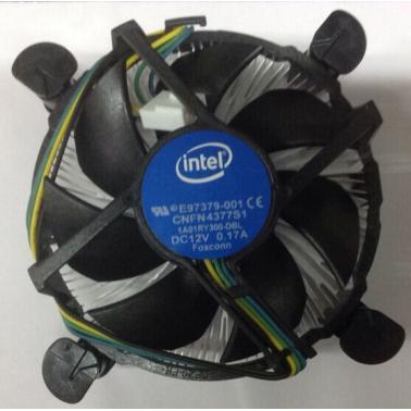 英特尔(intel)1150针铜芯12V 风冷 原装CPU风扇