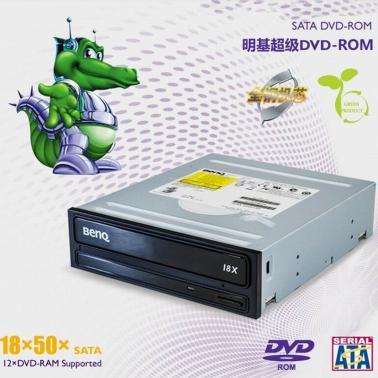 明基(BenQ) DVD18SA 18速 串口光驱(黑色)