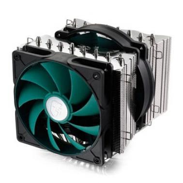 九州风神(DEEPCOOL) 阿萨辛 多平台CPU散热器 双风扇 支持intel 2011架构