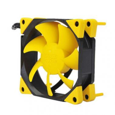超频三(PCCOOLER)旋风F92Y 9cm机箱风扇 9厘米 CPU备用散热风扇