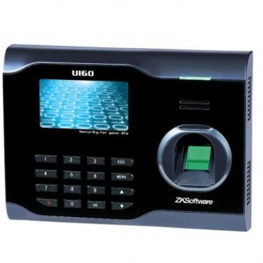 中控(ZK Software)U160 专业型指纹考勤终端 无线网WIFI网络打卡机