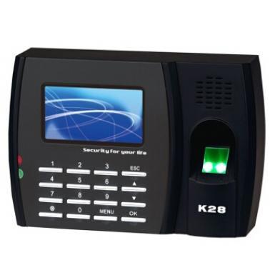 中控(ZK Software)K28 指纹识别考勤机 免驱动 360度指纹高速识别