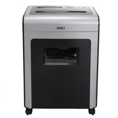 得力(deli)9914电动碎纸机(办公大功率4级保密 碎光盘)