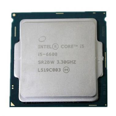 英特尔(Intel)酷睿i5-6600 14纳米 Skylake全新架构(LGA1151/3.3GHz/6MB三级缓存/65W)散片CPU