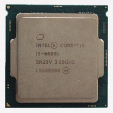 英特尔(Intel)酷睿i5-6600K 14纳米 Skylake全新架构(LGA1151/3.5GHz/6MB三级缓存/65W)散片CPU