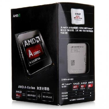 AMD APU系列双核 A6-6400K (Socket FM2/3.9GHz/1M缓存/65W)盒装CPU