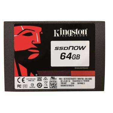 金士顿(Kingston)SV300系列  64GB 2.5英寸 SATA3 固态硬盘