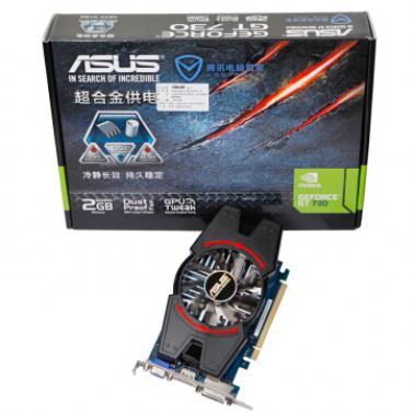 华硕(ASUS)GT730-MG-2GD3-V2 真实 2GB DDR3超大显卡