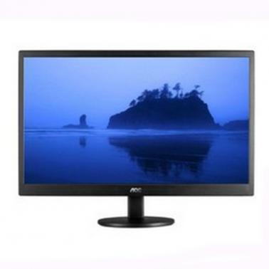 AOC(冠捷)E2070SWNE 19.5英寸液晶高清显示器(黑色)