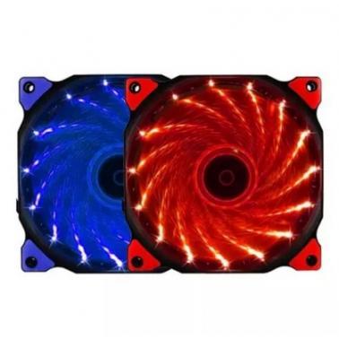 游戏悍将(Game Demon) 12CM LED红光带 魔兽风扇