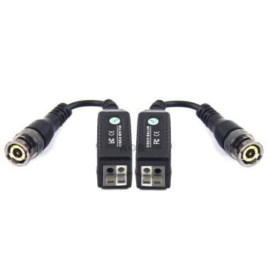监控模拟双绞线传输器(1对)即插即用(5对起批,不零售)