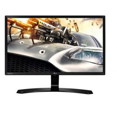 LG 24MP58VQ-P 23.8英寸光滑切割设计IPS硬屏 护眼不闪滤蓝光液晶显示器