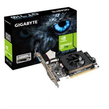 技嘉(GIGABYTE)N710D3-1G 显卡