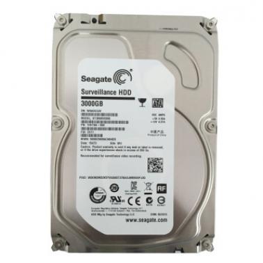 希捷(Seagate) 3TB ST3000VX006 5900转64M SATA 6Gb/秒 监控级硬盘