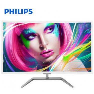 飞利浦(PHILIPS)326E7QSA 32英寸MVA曲面屏液晶显示器