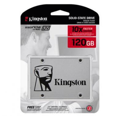 金士顿(Kingston)SUV400系列 120GB 2.5英寸 SATA3 固态硬盘