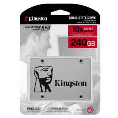 金士顿(Kingston)SUV400系列 240GB 2.5英寸 SATA3 固态硬盘