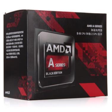 AMD APU系列四核 A10-7860K(Socket FM2/3.6GHz/4M缓存/65W)盒装CPU