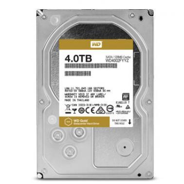 西部数据(WD)4TB SATA6GB/s  7200转128M 企业级硬盘(WD4002FYYZ)