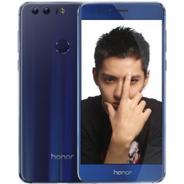 华为HUAWEI 荣耀8 智能手机 全网通版4G 八核 ROM/32GB RAM/4GB 前800万 后1200万 5.2英寸 双卡双待 魅海蓝色 2900mA/h