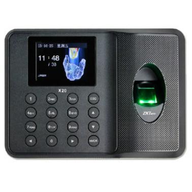 中控(ZKTeco)X20 指纹打卡机 考勤机 打卡器