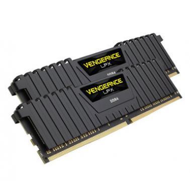 海盗船 复仇者 DDR4 16GB(8G*2) 3000 套装黑色台式机内存(CMK16GX4M2B3000C15)