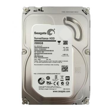 希捷(Seagate) 2TB ST2000VX003 5900转64M SATA 6Gb/秒 监控级硬盘