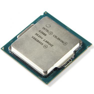 英特尔(Intel)G3900 赛扬双核 14纳米(LGA1151/2.8GHZ/2M/51W)散片CPU
