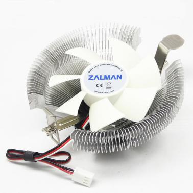 扎曼(ZALMAN) ZM-F8北极熊普及版 CPU多平台散热器 超静音风扇