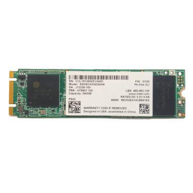 英特尔(Intel)SSD 540系列 240GB 2.5英寸 彩包 M.2-SSDSCKKW240H6X1 固态硬盘