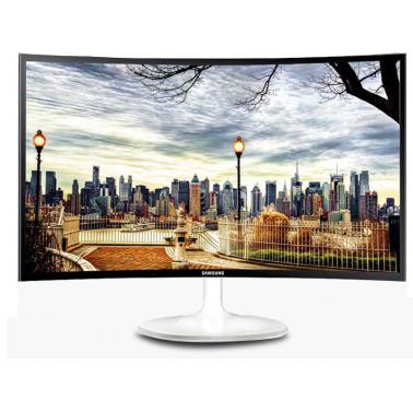 三星(SAMSUNG) C24F399FH 23.6英寸 曲面屏MVA广视角高清显示器