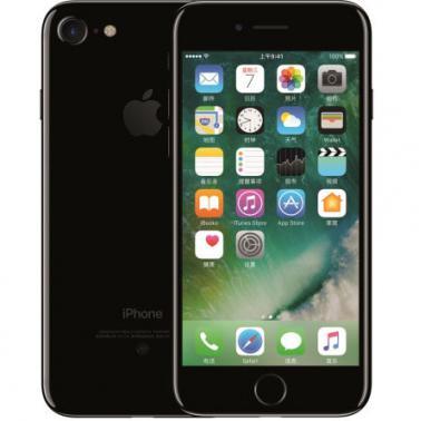 苹果iPhone 7 智能手机 公开版三网4G 苹果四核A10+M10协处理器 ROM/128GB RAM/2GB 4.7英寸 前700万像素 后1200像素 亮黑色 1960mA/h MNH22CH/A