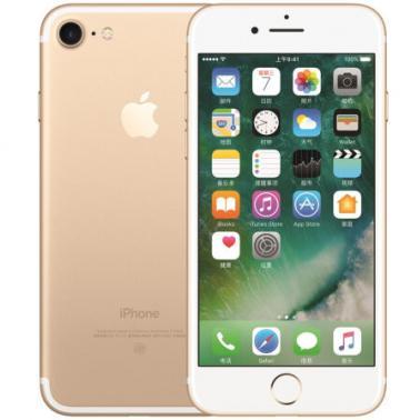 苹果iPhone 7 智能手机 公开版三网4G 苹果四核A10+M10协处理器 ROM/128GB RAM/2GB 4.7英寸 前700万像素 后1200像素 金色 1960mA/h