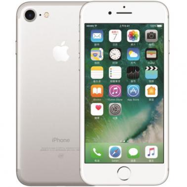 苹果iPhone 7 Plus 智能手机 公开版三网4G 苹果四核A10+M10协处理器 ROM/128GB RAM/3GB 5.5英寸 前700万像素 后1200像素 银色 2910mA/h MNFQ2CH/A