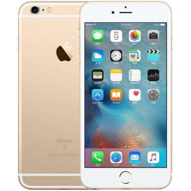 苹果iPhone 6s Plus智能手机 公开版三网4G 苹果四核A9+M9协处理器 ROM/32GB RAM/2GB 5.5英寸 前500万像素 后1200像素 金色 2750mA/h MN3T2CH/A