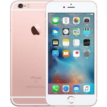 苹果iPhone 6s Plus智能手机 公开版三网4G 苹果四核A9+M9协处理器 ROM/32GB RAM/2GB 5.5英寸 前500万像素 后1200像素 玫瑰金色 2750mA/h MN3U2CH/A