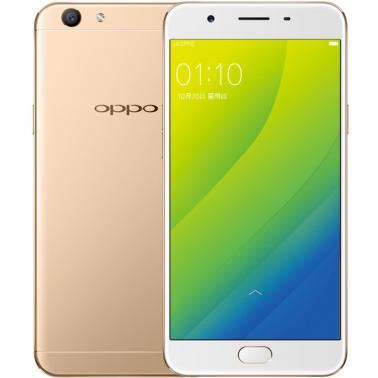 OPPO A59S智能手机 全网通版4G 八核 ROM/32GB RAM/4GB 前1600万 后1300万 5.5英寸 双卡双待 金色 3075mA/h