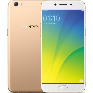 OPPO R9s智能手机 全网通4G 八核 ROM/64GB RAM/4GB 前1600万像素 后1600万像素 5.5英寸 双卡双待 金色 3050mA/h