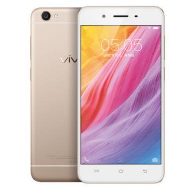 vivo Y55智能手机 全网通版4G 八核 ROM/16GB RAM/2GB 前500万像素 后800万像素 5.2英寸 双卡双待 金色 2730mA/h
