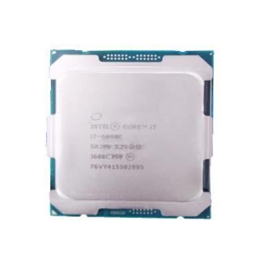 英特尔(Intel)酷睿i7-6900K 14纳米 Broadwell-E(LGA2011-V3/八核/3.2GHz/20MB三级缓存/140W)散片CPU