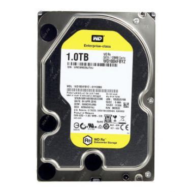 西部数据(WD)1TB SATA6GB/s 7200转 128M 企业级硬盘(WD1004FBYZ)